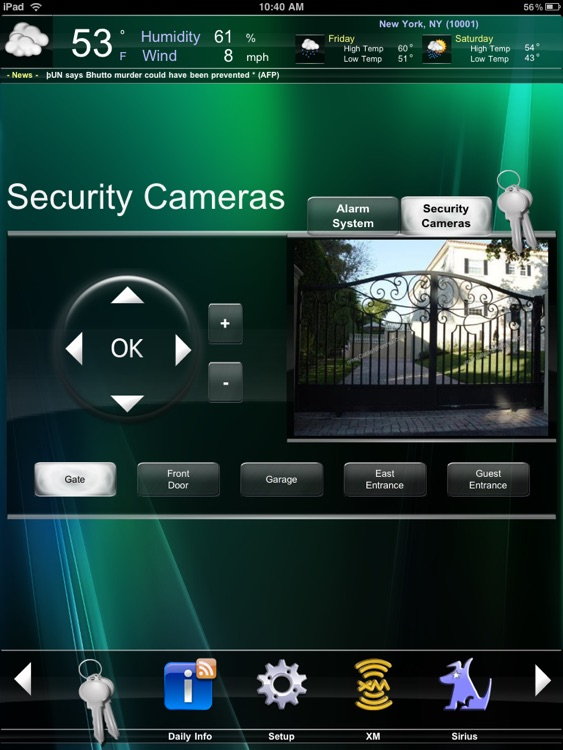 Crestron Mobile Pro G screenshot-2