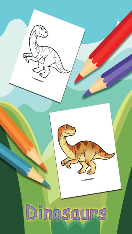 Dinosaur Coloring Book For Kids & Toddler