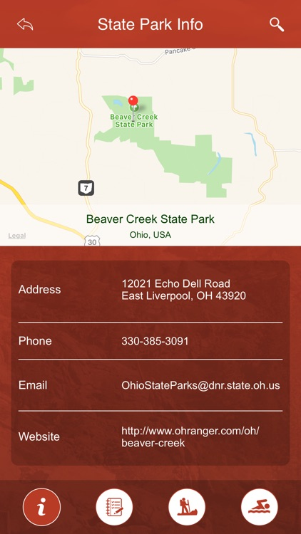 Ohio State Parks, Trails & Campgrounds screenshot-3