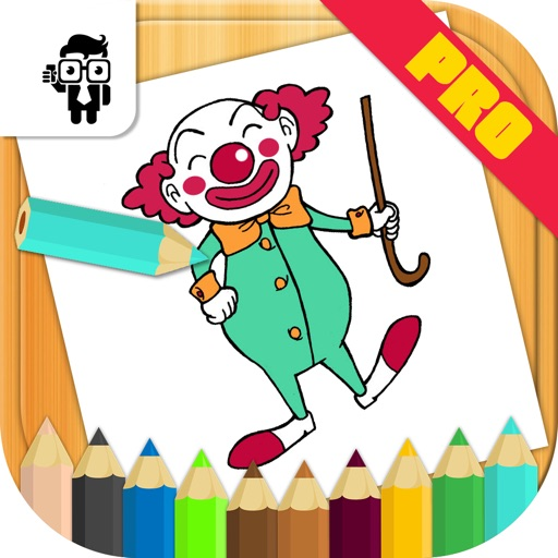 Cartoon Kids Coloring Book Pro