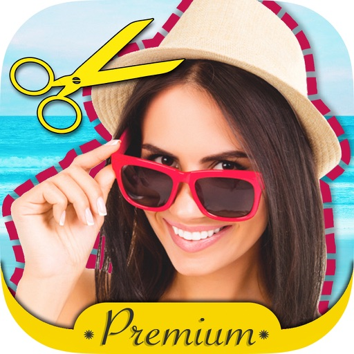 Cut and paste photos & stickers photo editor - Pro