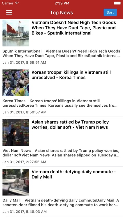 Vietnam News Today & Vietnamese Radio Pro Edition screenshot-0