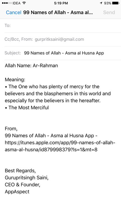 99 Names of Allah - Asma al Husna screenshot-3
