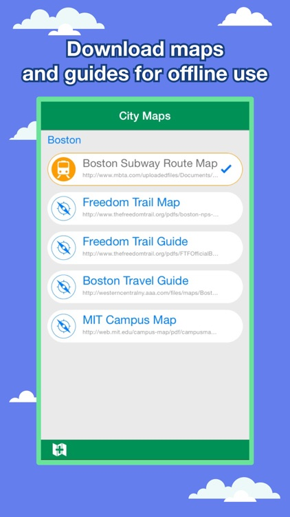 Boston City Maps - Discover BOS with Metro & Bus