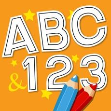 Activities of Anitrek Coloring - Alphabets & Numbers Colorbook