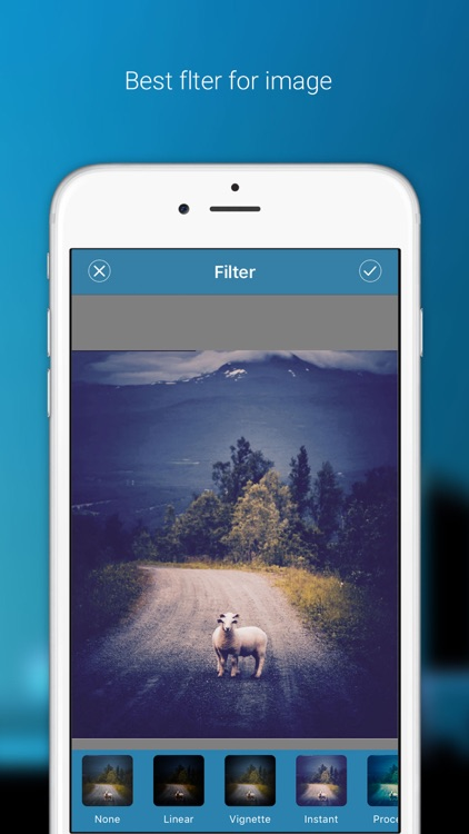 Color splash effect editor - The Photo Editor