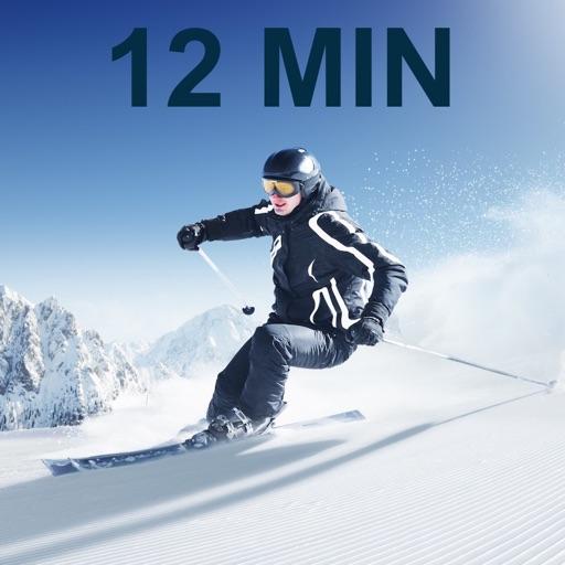 12 Min Ski Workout Challenge Free - Fit for slopes