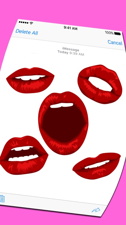 Lip Expressions Stickers