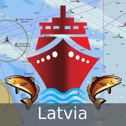 i-Boating:Latvia Marine Charts & Navigation Maps