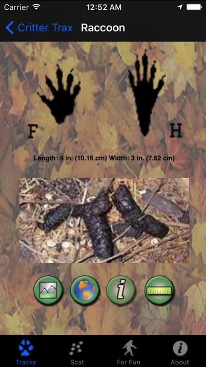 Critter Trax - Wild Animal Tracks and Scat screenshot-3