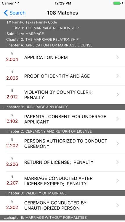 Texas Family Code (LawStack's TX Law/Statutes) screenshot-4