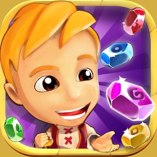Игры 3 в ряд: головоломка и приключение с алмазами