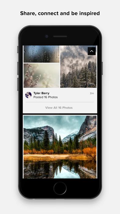 Screenshot 4 for Flickr's iPhone app'