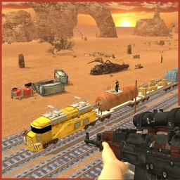 Train Sniper Furious Attack 3D