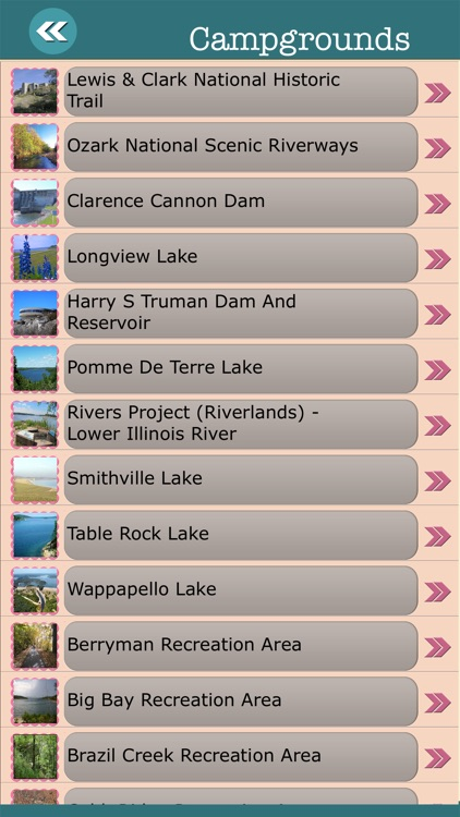 Missouri State Campgrounds & Hiking Trails screenshot-2