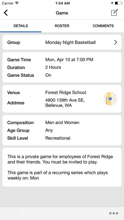 InfiniteHoops : Find Pickup Basketball Games