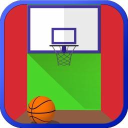 Arcade Basketball Shots - Multiplayer Flick Game