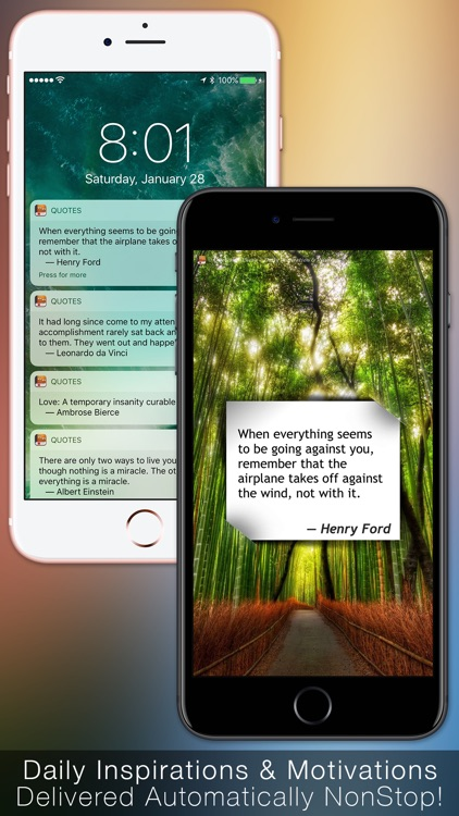 Quotes: Daily Inspiration & Wisdom with Wallpapers screenshot-3