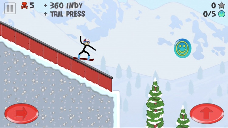 Stickman Snowboarder™ screenshot-1