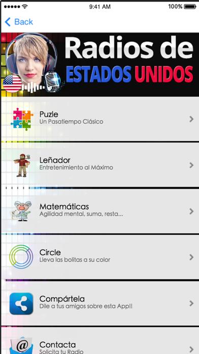 Radios de Estados Unidos screenshot two