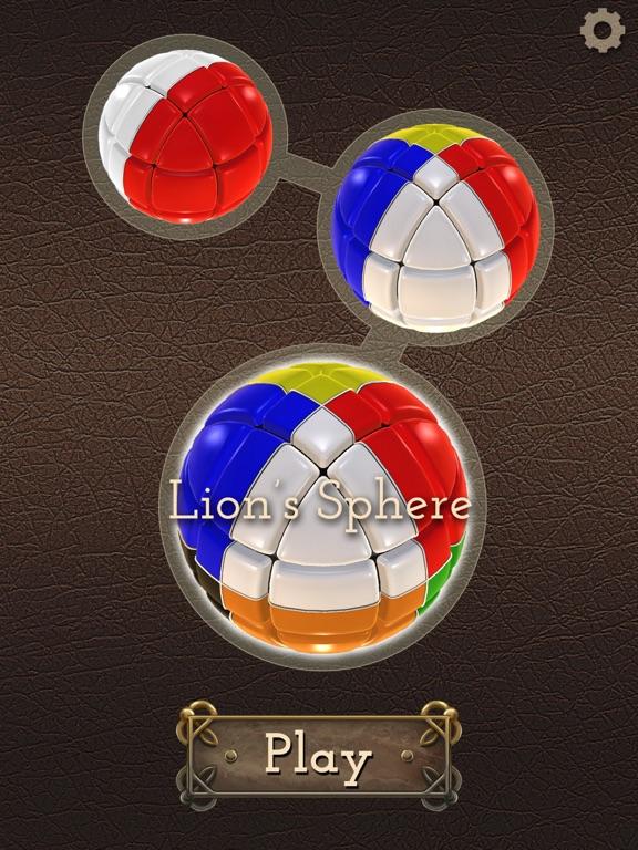 Головоломка Сфера Льва на iPad