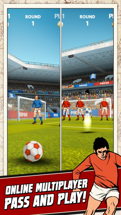 Flick Kick Football Kickoff