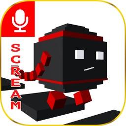 Scream Run - Go & Jump with sound & voice control