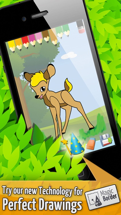 Forest - Kids Coloring book games for boys & girls screenshot-3