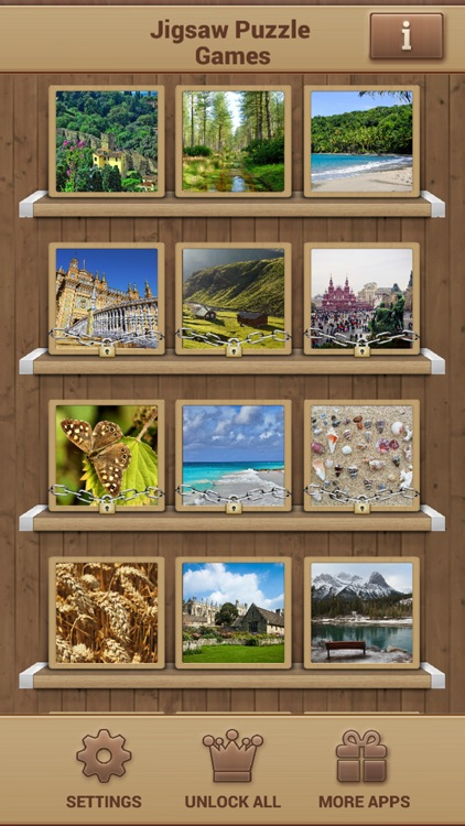 Jigsaw Puzzle Games - Amazing Brain Game screenshot-1