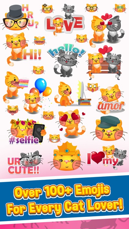 Cat Emojis - Cat Emoji Keyboard & Stickers