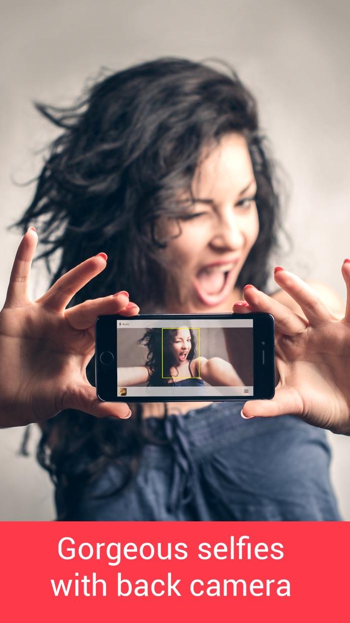 SelfieX - Automatic Back Camera Selfie Screenshot