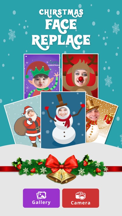 Elf Yourself- Christmas Photo Booth Face Merge App