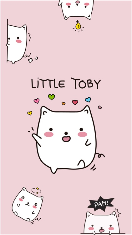 Little Toby Stickers