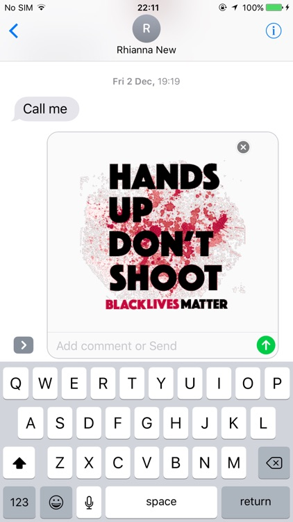 Black Lives Matter sticker pack screenshot-3
