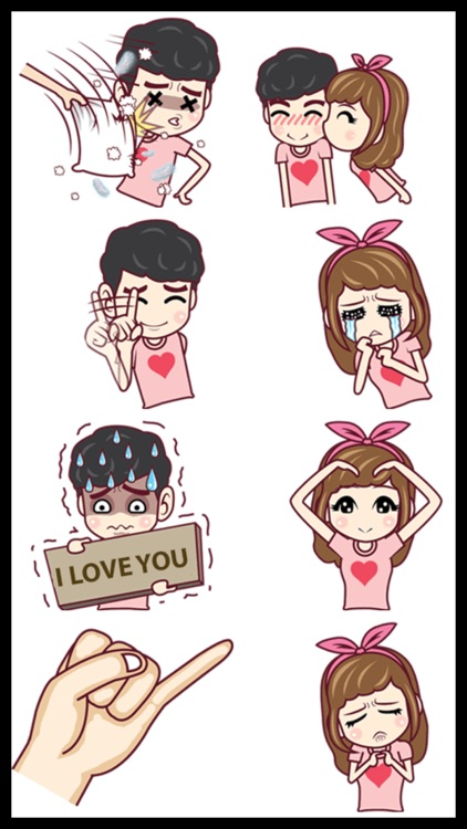 Love Couple Sticker Pack screenshot-3