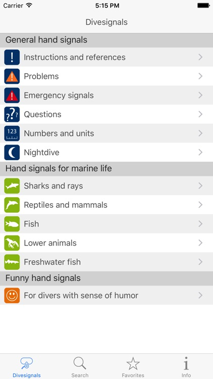 Dive Signals screenshot-0