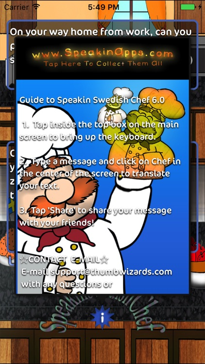 Speakin Swedish Chef screenshot-1