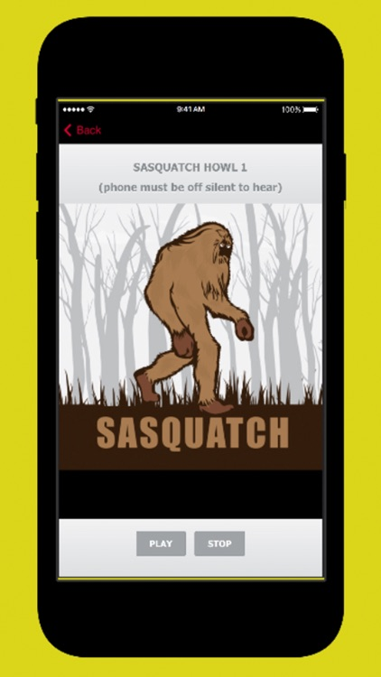 Sasquatch Calls screenshot-0