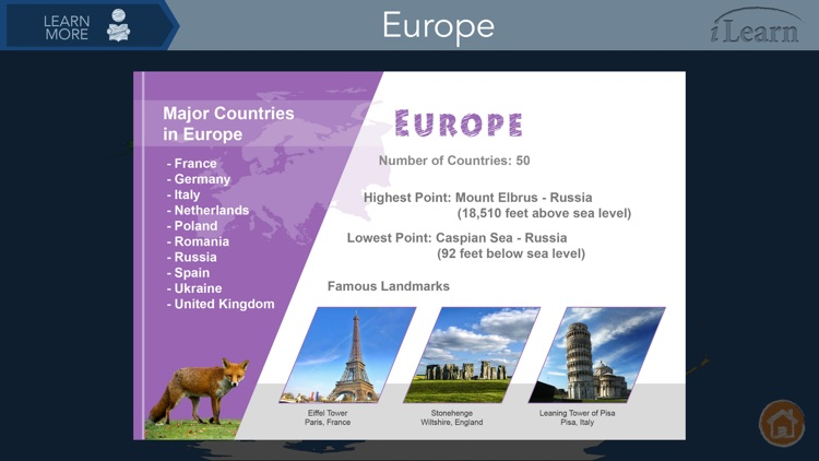 iLearn: Continents & Oceans screenshot-3