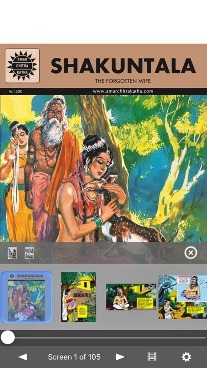 Shakuntala - Amar Chitra Katha Comics