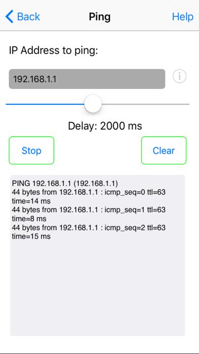 Network Ping Lite ScreenShot1