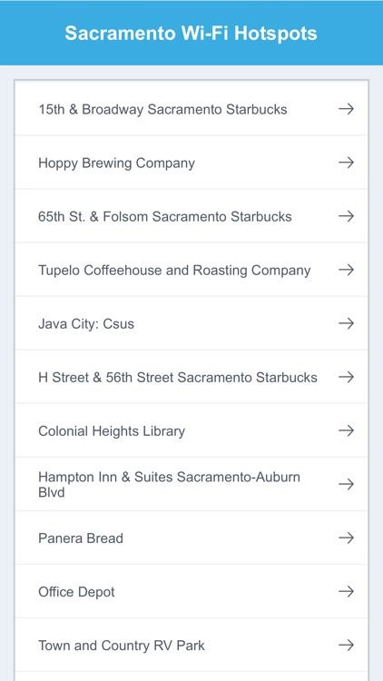 Sacramento Wifi Hotspots