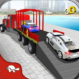 Limo Car Transporter Trailer Truck 3d By Amjad Islam