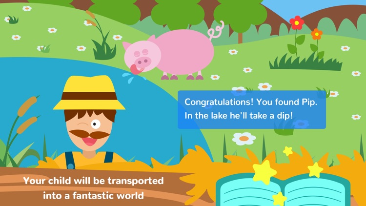 Math Tales The Farm: Rhymes and maths for kids screenshot-0