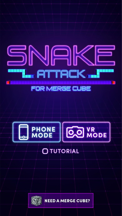 Snake Attack for MERGE Cube for Pc
