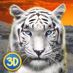 Wild Snow Leopard: Animal Simulator