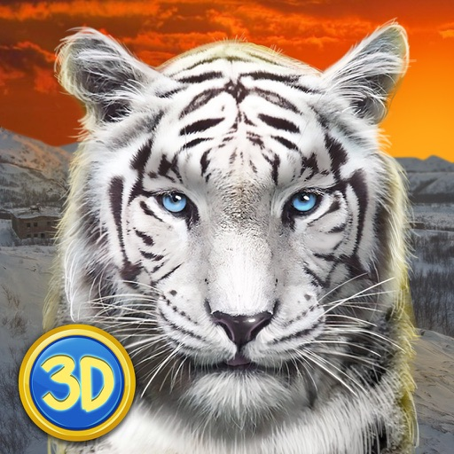Wild Snow Leopard: Animal Simulator
