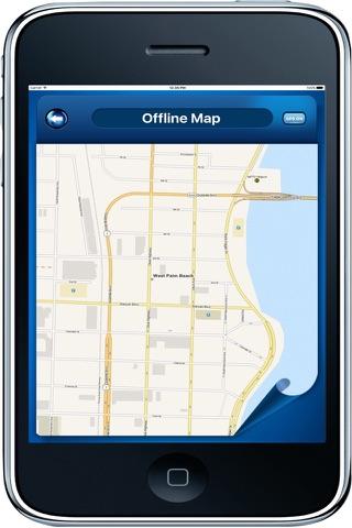 West Palm Beach Florida - Offline Maps Navigator - náhled
