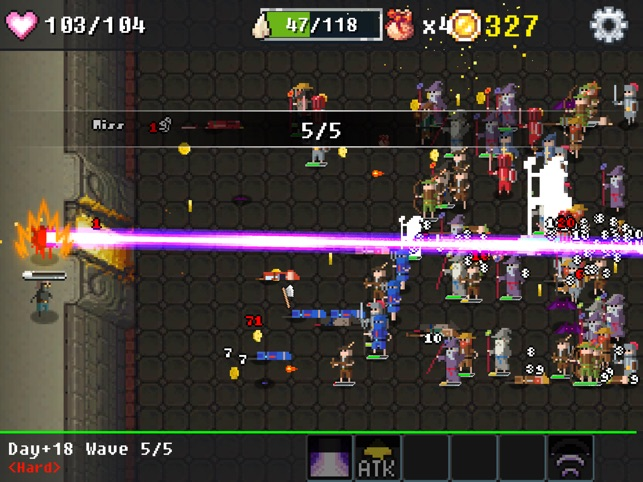 Dungeon Defense : The Invasion of Heroes Screenshot