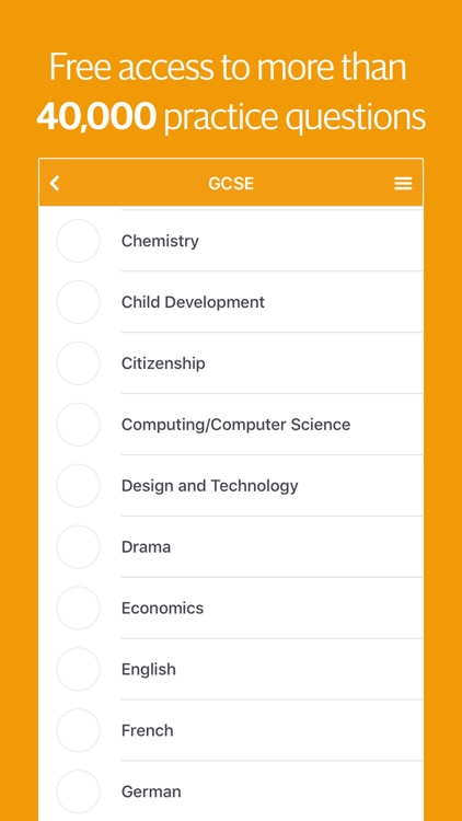 Gojimo – Revise, Learn & Study for GCSE & A level